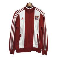 Vintage Rare Original Adidas Bayern Munchen Classic Retro Track Jacket Red Men S