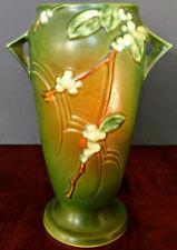"ROSEVILLE ""Snowberry # IVI-10 Unique Pottery Vase 10.5"" Tall, Perfect!!!"