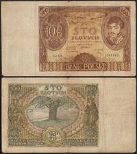 POLONIA 100 ZLOTYCH 2/6/1932