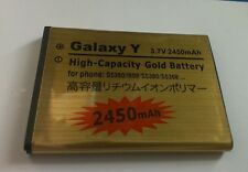 New 2450mAh Battery For Samsung Galaxy Y Pocket SCH-I509 GT-S5300 S5360 S5368