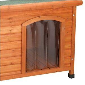 Premium Plus Frame Dog House Door Flap - Large & E