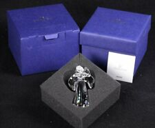 "2018 Swarovski Silver Crystal 5397776 Clear Angel Ornament Brand New 3""H"