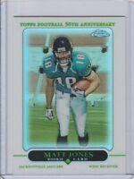 2005 TOPPS CHROME REFRACTOR MATT JONES #181 JACKSONVILLE JAGUARS ROOKIE RC