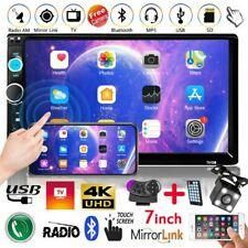 "7""Autoradio Stereo Radio MP3 MP5 Player LETTORE FM USB BLUETOOTH Auto TELECAMERA"