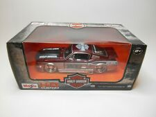 HARLEY DAVIDSON CUSTOM SERIES 1967 FORD MUSTANG GT 1:24 Scale  -  NEW IN BOX