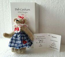Deb Canham Mini Bear Belinda Teddy Herrmann Original Le 3000