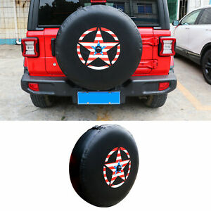 """Spare Tire Cover w/ Backup Camera For Wrangler JL 18-20 Fit 30-32"""" Spare Tire"""