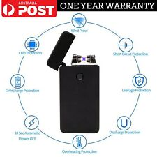 Electronic Plasma Lighter Dual Arc Flameless Windproof USB Rechargeable Lighters