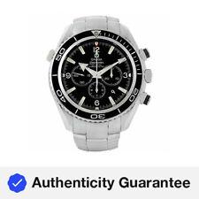 Omega 2210.50.00 Seamaster Planet Ocean 45.5MM para Hombre Cronógrafo Reloj De Acero