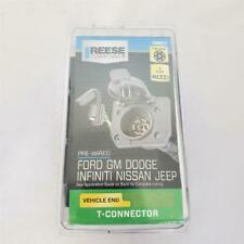 = Reese Towpower Pre-Wired Ford GM Dodge Infiniti Nissan Jeep T- Connector