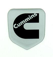 DODGE RAM  GRILLE EMBLEM Gas or Cummins 1994-2002  Silver Metallic Black C