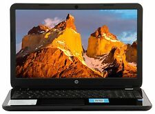 HP 15.6 Intel Quad Core 1.5GHz 4GB 500GB DVDRW Wifi 15-g029 LN