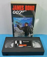 VHS CLASSIC JAMES BOND 007 COLLECTION VINTAGE - SERVICIO SECRETO DE SU MAJESTAD