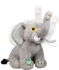 PELUCHE DOUDOU ELEPHANT animé et son DISCOVERY CHANNEL