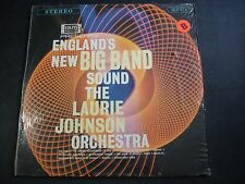 ENGLAND'S NEW BIG BAND SOUND THE LAURIE JOHNSON ORCHESTRA LP RECORD NM