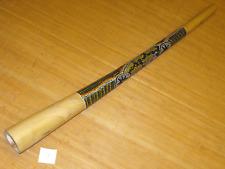 tolles bemaltes Teakholz Didgeridoo 131 cm in E bell 10 x 10 cm toller Sound