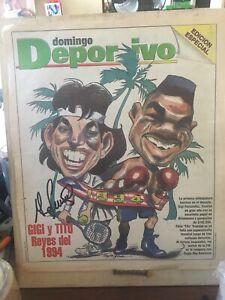 GIGI FERNANDEZ PUERTO RICO TENNIS PLAYER SIGNED 1988-1994 NEWSPAPER COVERS