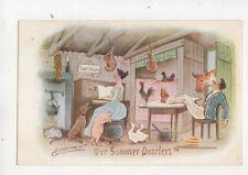 Cynicus Our Summer Quarters Vintage Postcard 320b
