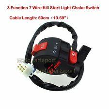 Kill Start Light Choke Switch For 50 70 90 110 125cc ATV Quad Taotao Sunl Roketa