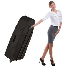 NEW! PORTABLE FOLDING MASSAGE CHAIR UNIVERSAL CARRYING CASE W/WHEELS - CARRY BAG