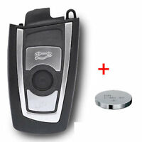 Schlüssel Gehäuse BMW F01 F10 F11 F12 F13 F25 SMARTKEY Fernbedienung +Batterie
