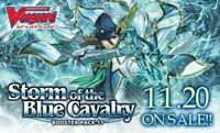 Cardfight Vanguard TCG Storm of The Blue Cavalry CFV VBT11 Booster Box 16 packs