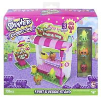 Shopkins Kinstructions The Bridge Direct  Fruit & Veggie Stand Building Set new