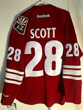 Reebok Premier NHL Jersey Arizona Coyotes John Scott Burgundy sz L