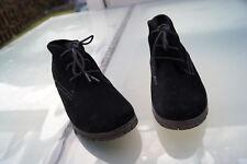 BAMA Damen Winter Schuhe Stiefelette Boots Gr.40 gefüttert schwarz wildleder #81