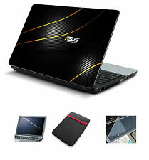 Laptop Accessories Combo 4 in 1 Asus (Skin+Sleeve+Screen+Key Guard) 14.1""