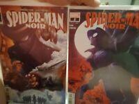 SPIDER-MAN NOIR #1 & #2 NM
