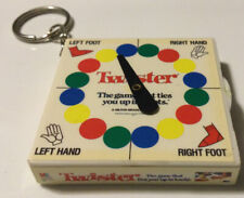 New ListingVintage Twister Game Keychain 1998 Hasbro Great For Raod Trips
