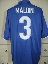 PAOLO MALDINI ITALY WORLD CUP 1998 NIKE FOOTBALL SOCCER SHIRT XL VTG INDOSSATA
