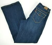 Levi's Women's 512 Perfectly Slimming Boot Cut Blue Jeans 12 SHORT