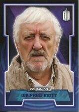 Doctor Who 2015 Purple Parallel [99] Base Card #50 Wilfred Mott