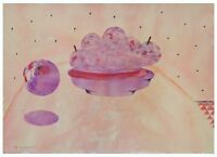 Oded Feingersh: Pink Dish / Israeli Jewish / Pop Art Contemporary Surrealism