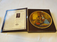 Norman Rockwell's Colonials Portrait for a Birdegroom collector plate 4094B #%