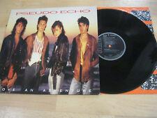LP Pseudo Echo Love an Adventure Vinyl RCA PL 90024