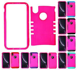 For Apple iPhone XR - KoolKase Armor Hybrid Slicone Cover Case - Hot Pink (FL)