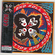 KISS - ROCK N ROLL OVER  ( Remastered Japanese Pressing 2006) LP REPLICA
