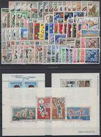 CG141661/ NIGER / LOT 1959 – 1967 MINT MNH FULL SETS CV 195 $