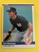 DON MATTINGLY 1984 Fleer Baseball Rookie #131 New York Yankees RC