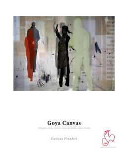 Hahnemuhle Goya Canvas 340 gsm Poly-cotton satin gloss