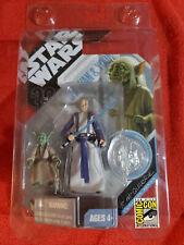 Star Wars Hasbro 30th Anniversary McQuarrie Concept OBI WAN & YODA w/ Case NIP