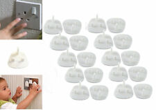 10 Baby Child Safety UK Plug Socket Covers Protector Guard Mains Electric Insert