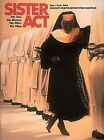 Sister Act Sheet Music Piano Vocal Guitar Songbook NEW 000312482