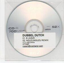 (EG737) Dubbel Dutch, B Leave - DJ CD