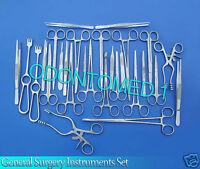 474 Pcs General Surgery Instruments Forceps' Scissors' Needle Holder' Retractor
