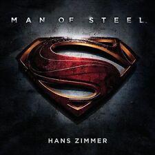 Man of Steel [Original Motion Picture Soundtrack] (CD, Jun-2013, 2 Discs, Water…