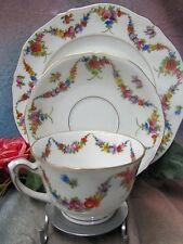Vintage ART DECO porcelain EPIAG Czechoslovakia 9195 CUP saucer PLATE trio SET